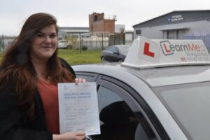 Sarah from Ayrshire passes